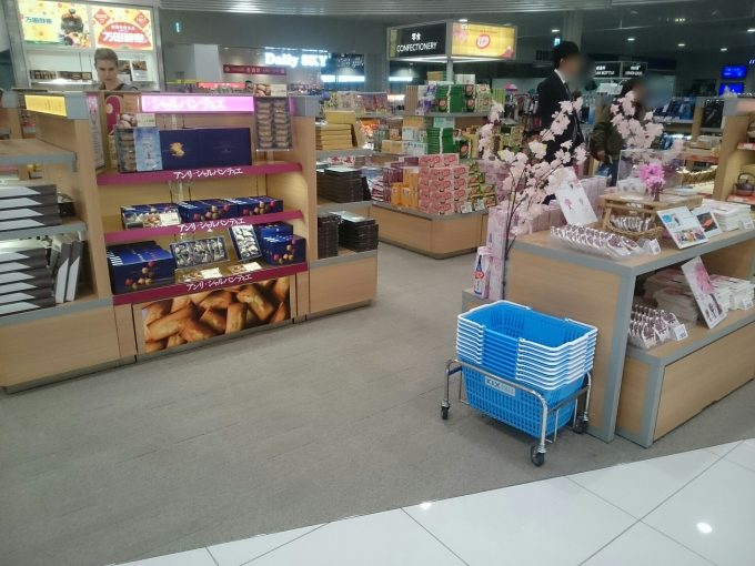 関西国際空港・第二ターミナルのお土産コーナー