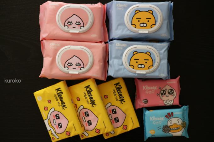 韓国のお土産オススメのティッシュペーパー類