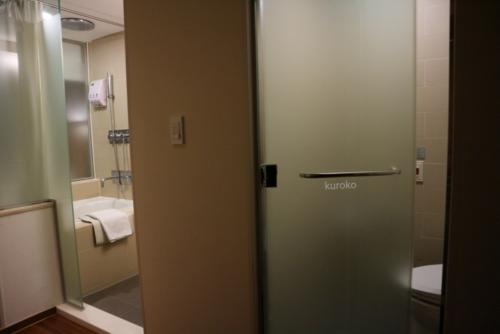 ナインツリーホテルのバス・トイレの画像