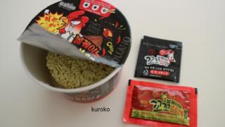 ボルケーノ韓国の激辛麺コッコポックンの画像
