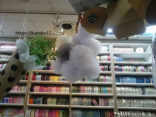 花市場のペーパーボンボンの画像