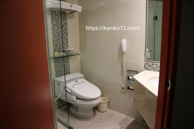 明洞プリンスホテルのバスルームの画像