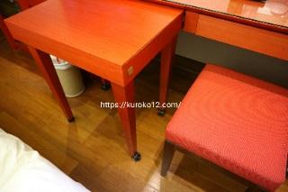 明洞プリンスホテルのテーブルの画像