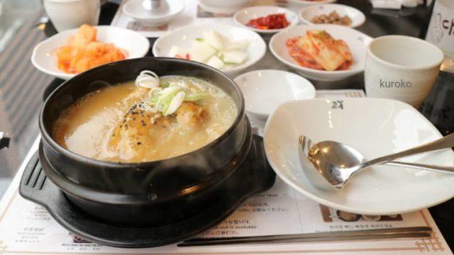 高峰参鶏湯の料理の画像