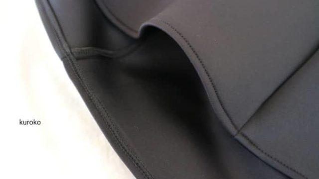 ソウルGOTO MALLで購入した黒い服の画像