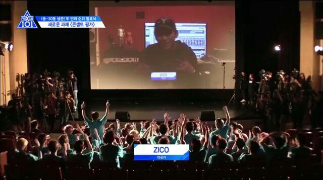 PRODUCE X 101プロデューサーZICO(ジコ)の画像