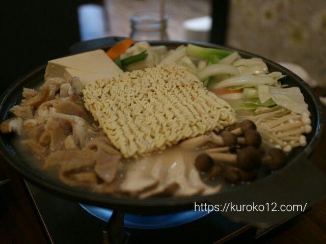 ダンミテラスのテッチャン鍋の画像