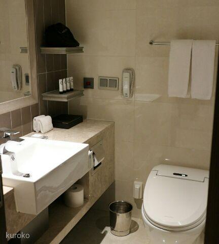 ロイヤルホテルソウルのバスルーム