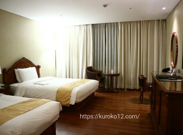 セジョンホテルの室内の画像