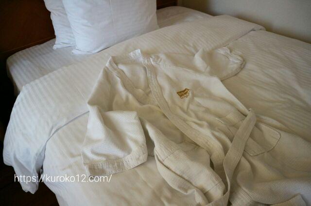 セジョンホテルのバスローブの画像