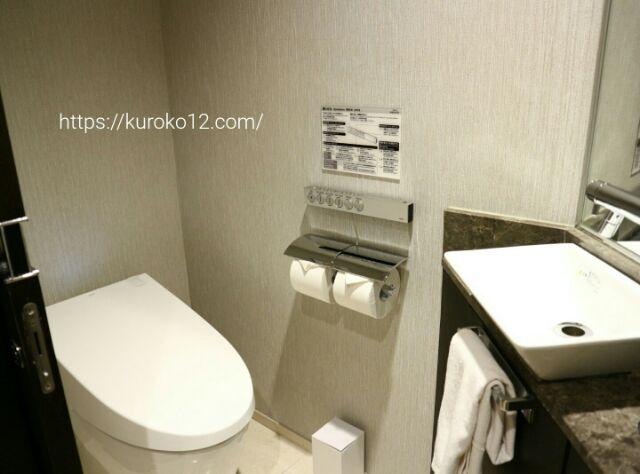 ソラリア西鉄ホテルソウルのトイレ